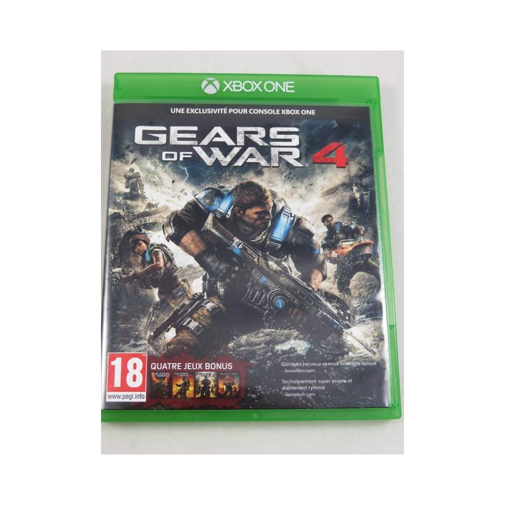 GEARS OF WAR 4 XONE UK OCCASION