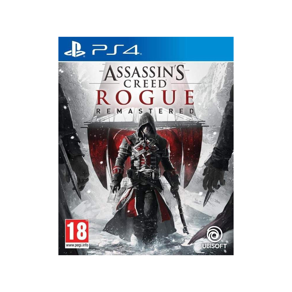 ASSASSIN S CREED ROGUE REMASTERED PS4 FR OCCASION