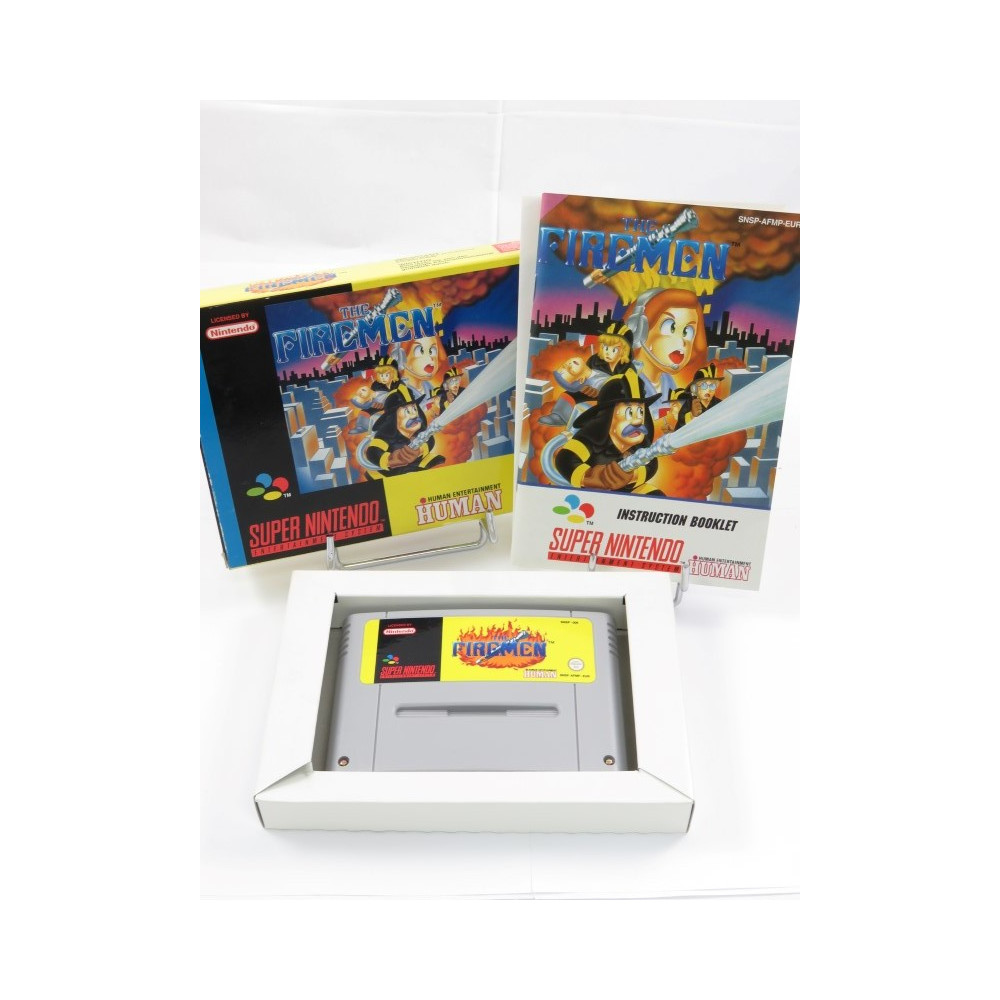 THE FIREMEN SNES PAL-EUR OCCASION
