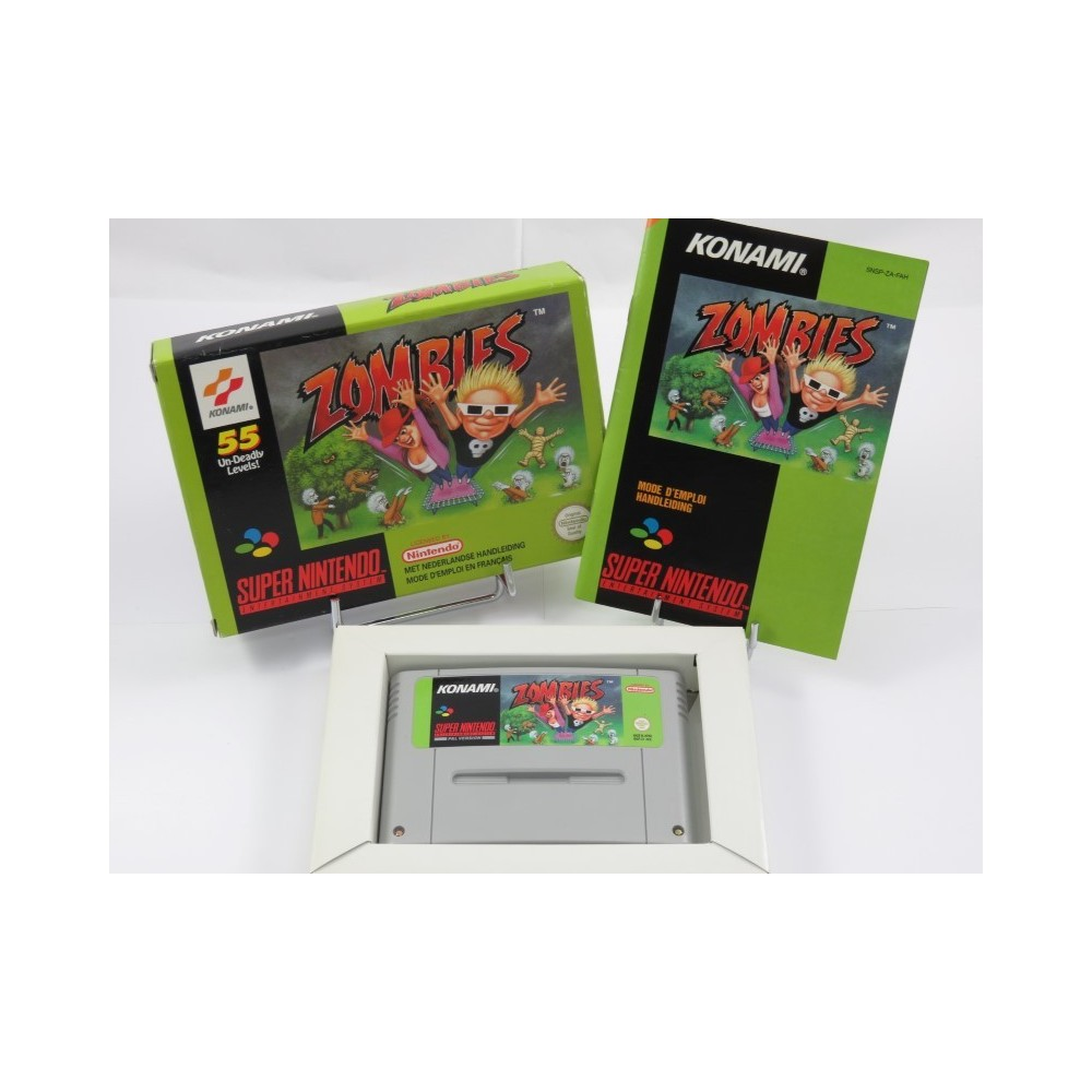 ZOMBIES SNES PAL-FAH OCCASION