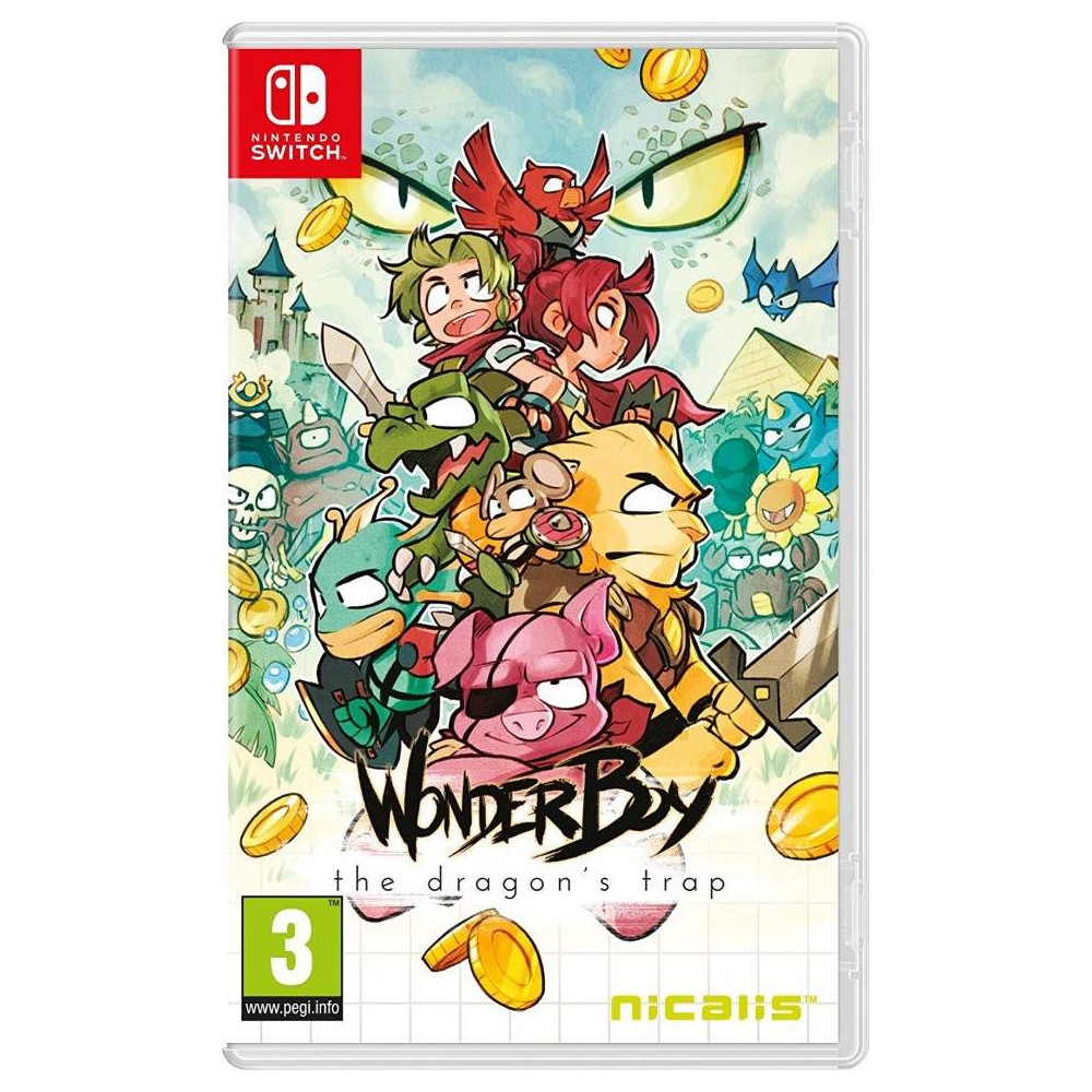 WONDER BOY THE DRAGON S TRAP SWITCH FR NEW