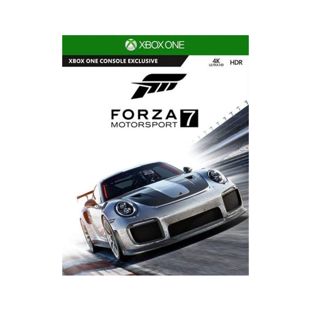 FORZA MOTORSPORT 7 XBOX ONE UK OCCASION