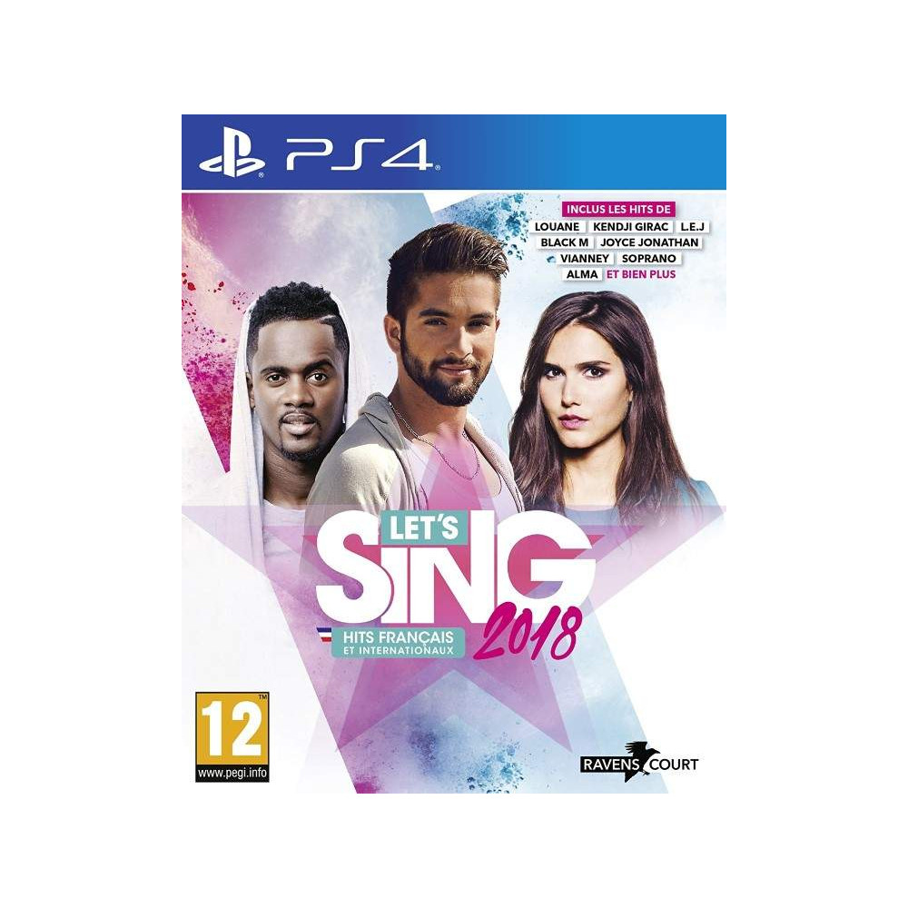 LET S SING 2018 PS4 FR OCCASION
