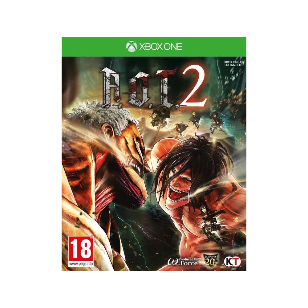 ATTACK ON TITAN 2 XBOX ONE FR OCCASION