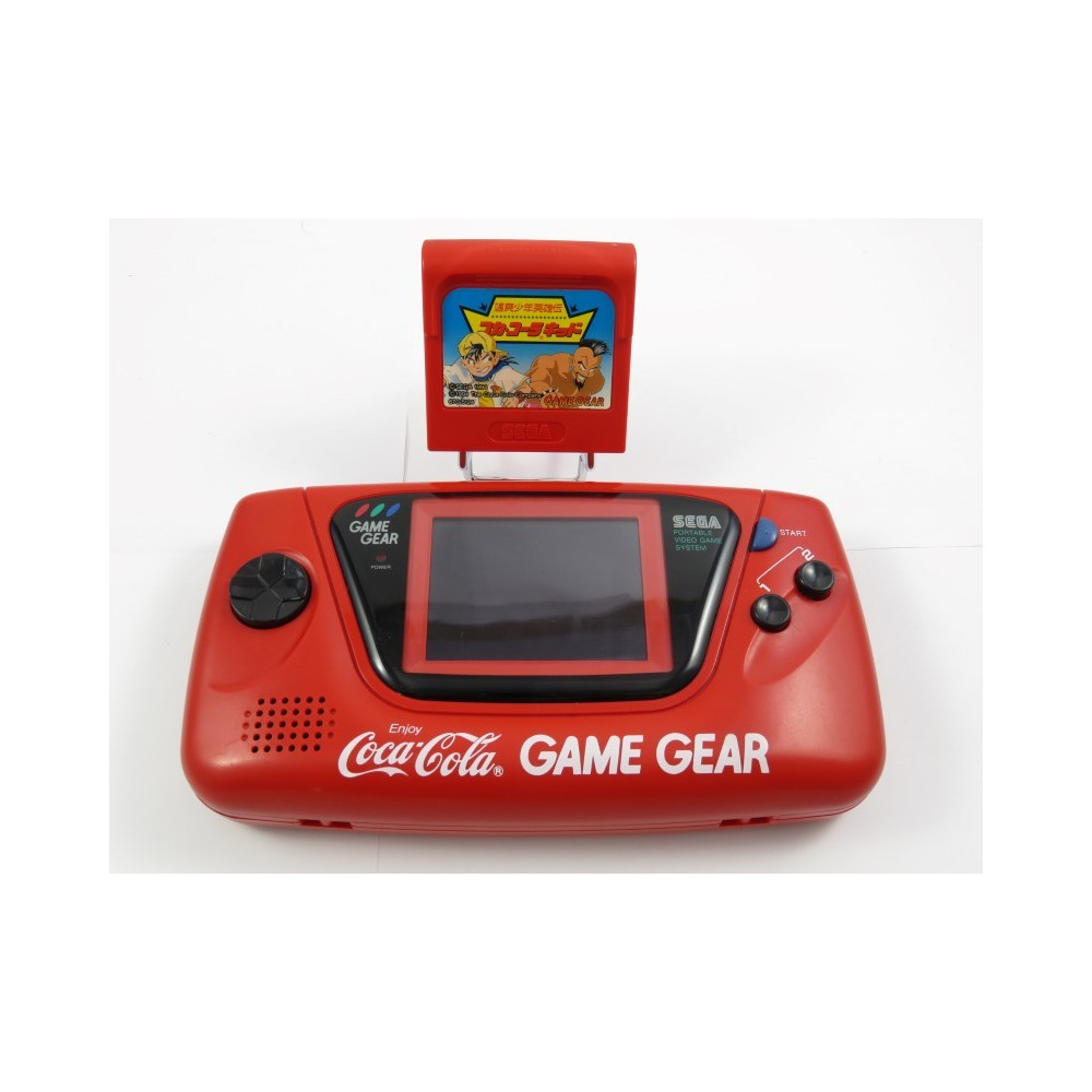 CONSOLE GAME GEAR COCA COLA EDITION + JEU JPN OCCASION