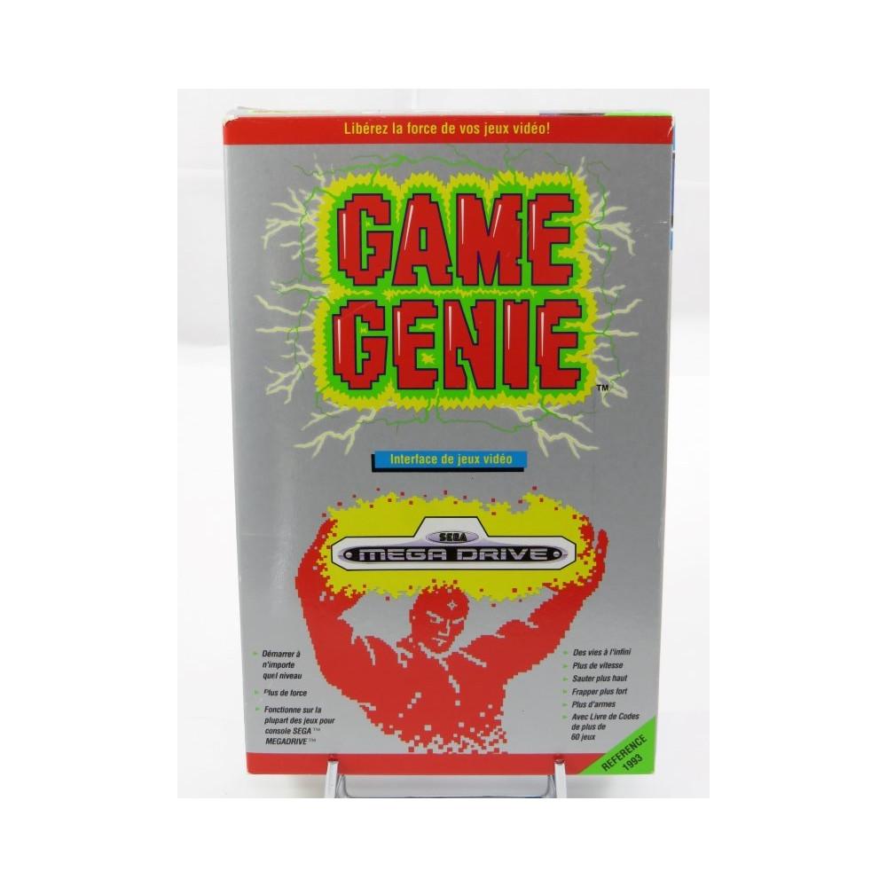 GAME GENIE MEGADRIVE PAL-FR OCCASION (ETAT A)