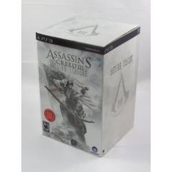 ASSASSIN'S CREED III LIMITED EDITION PS3 USA OCCASION
