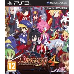 DISGAEA 4 A PROMISE UNFORGOTTEN PS3 UK NEW