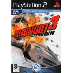 BURNOUT 3: TAKE DOWN PS2 PAL-FR OCCASION