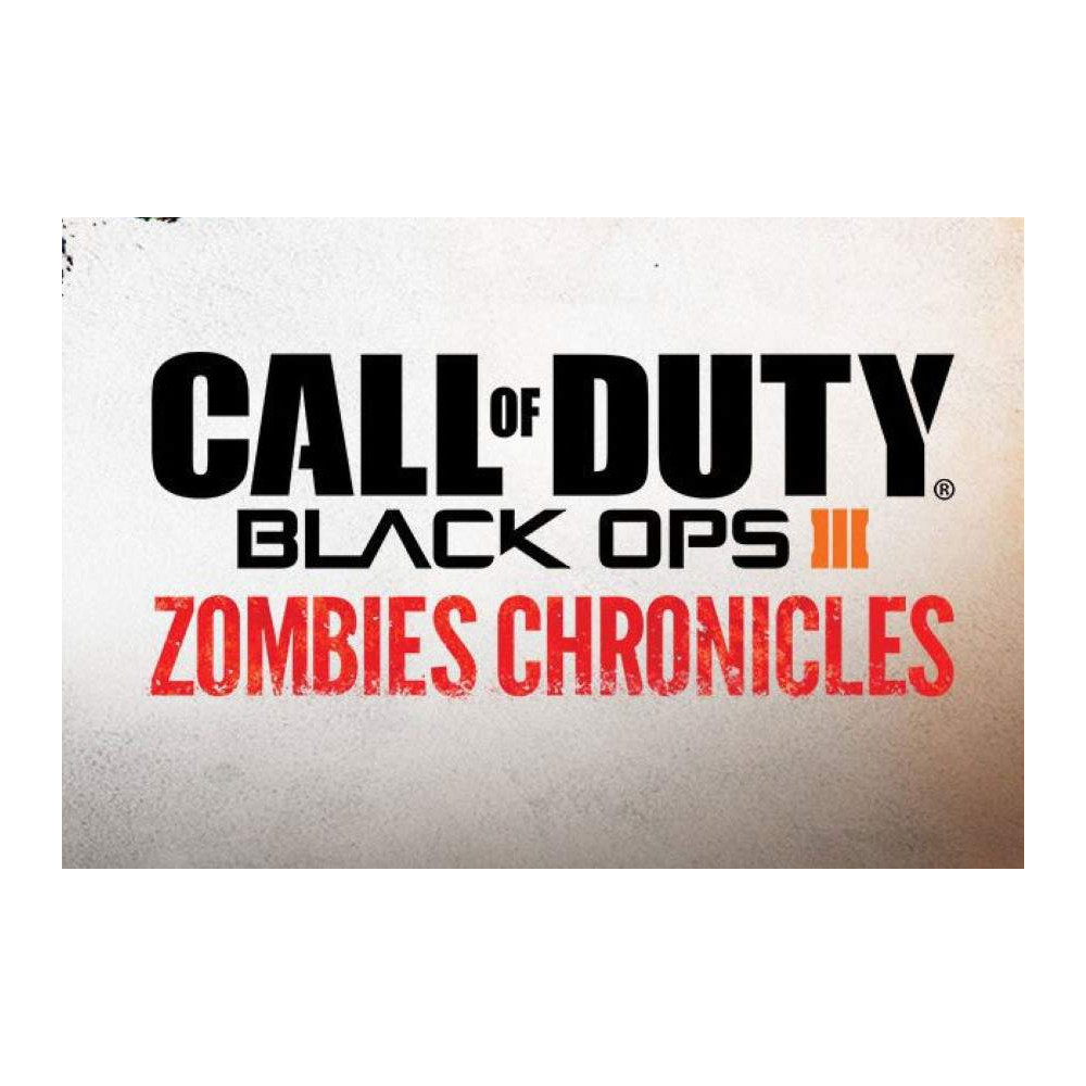 CALL OF DUTY BLACK OPS 3 ZOMBIES CHRONICLES EDITION PS4 UK OCCASION