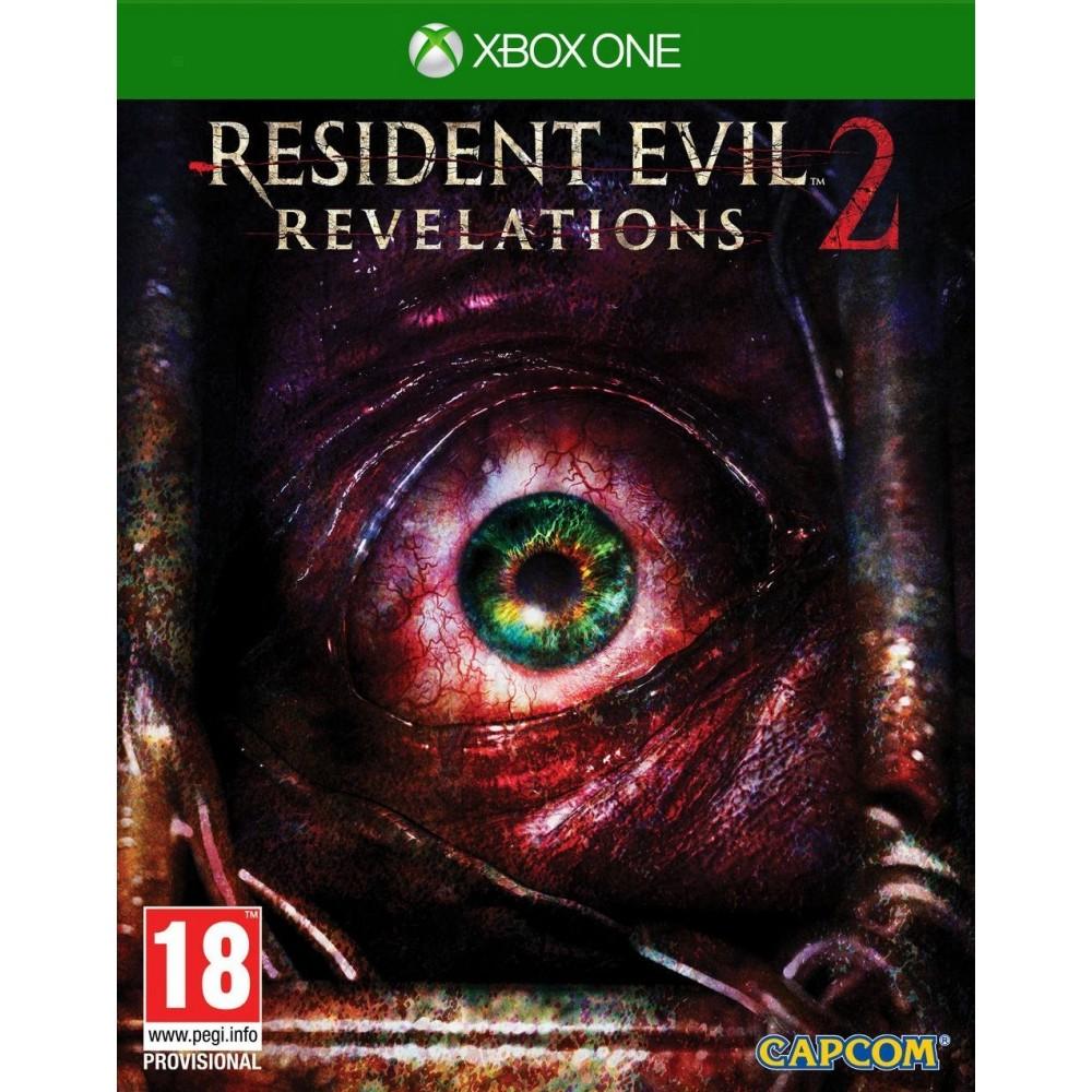 RESIDENT EVIL REVELATIONS 2 XBOX ONE UK OCCASION