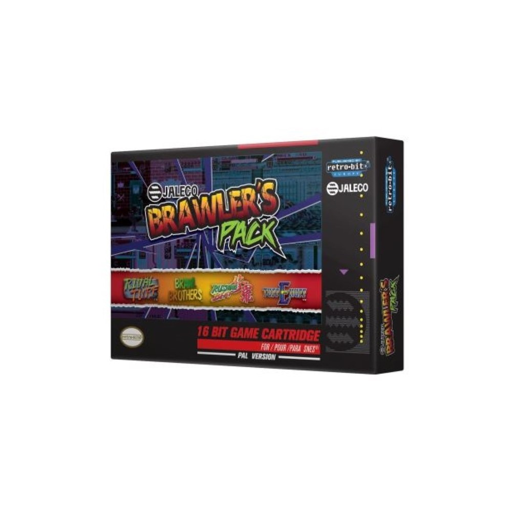 BRAWLER S PACK JALECO SNES PAL-EURO NEW