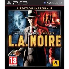 L.A NOIRE EDITION INTEGRALE PS3 FR NEW