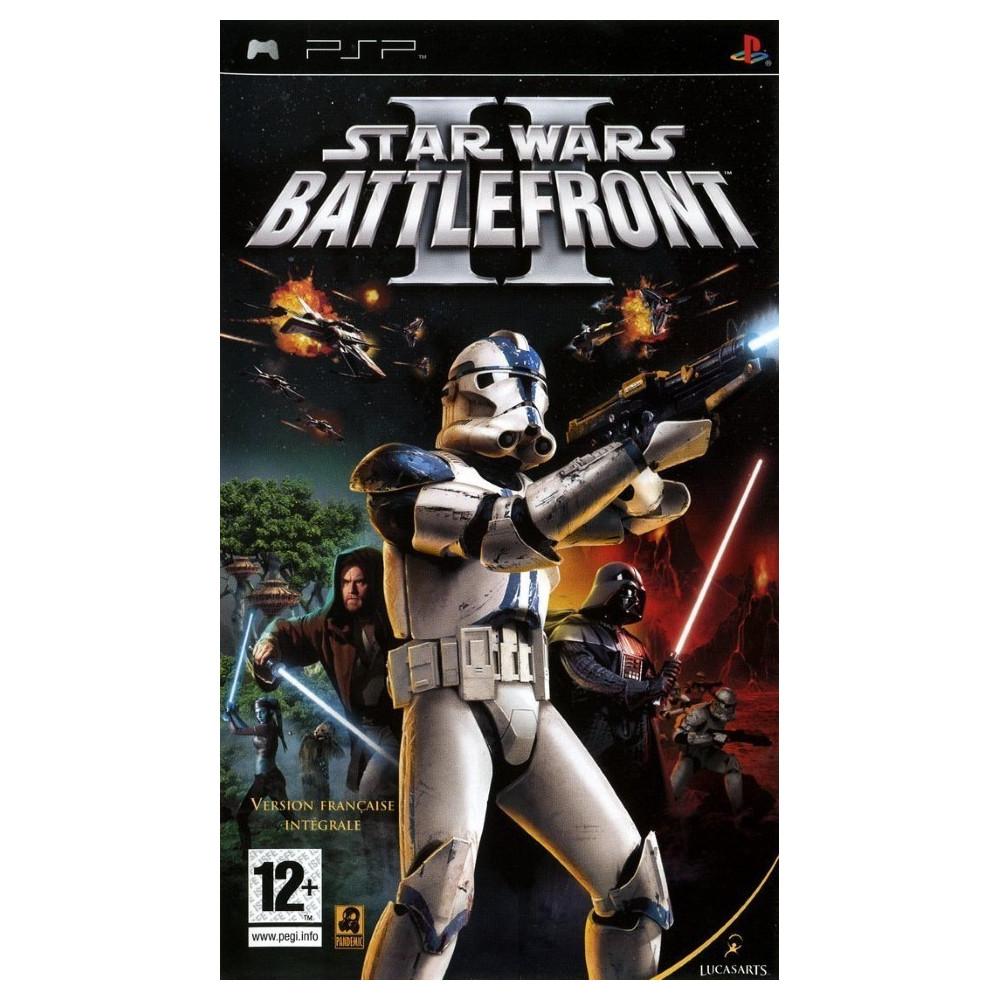 STAR WARS BATTLEFRONT 2 PSP FR OCCASION