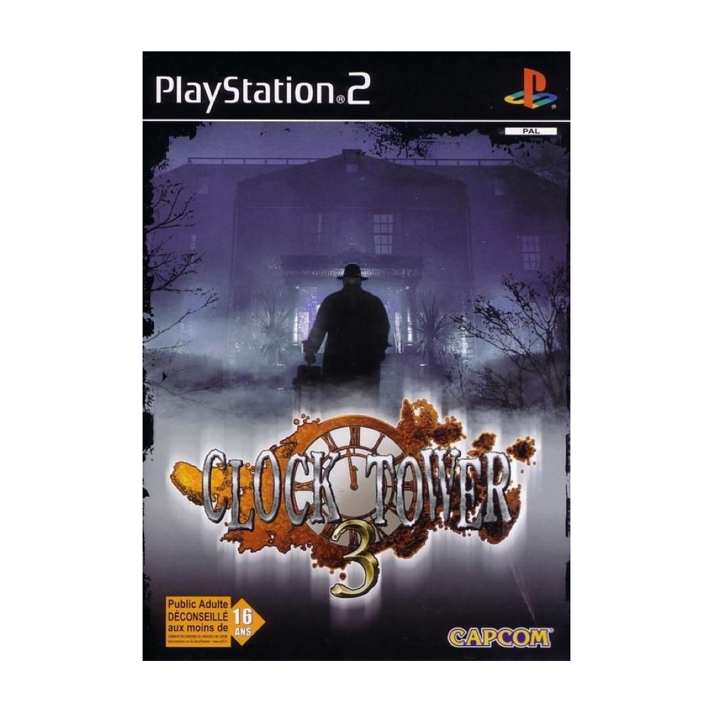 CLOCK TOWER 3 PS2 PAL-EURO OCCASION