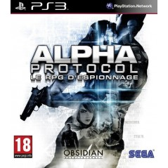ALPHA PROTOCOL PS3 FR OCCASION
