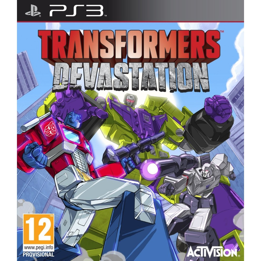 TRANSFORMERS DEVASTATION PS3 UK NEW