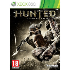 HUNTED THE DEMON'S FORGE XBOX 360 PAL-FR OCCASION