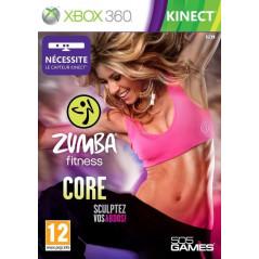 ZUMBA FITNESS CORE XBOX 360 PAL-FR OCCASION