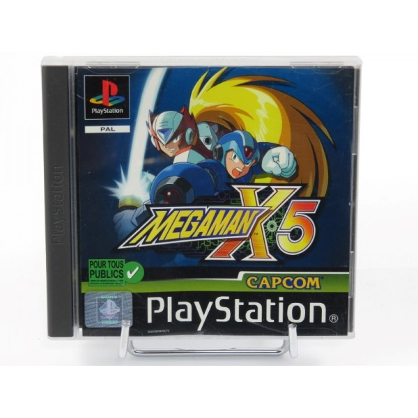 MEGAMAN X5 PS1 PAL-FR OCCASION