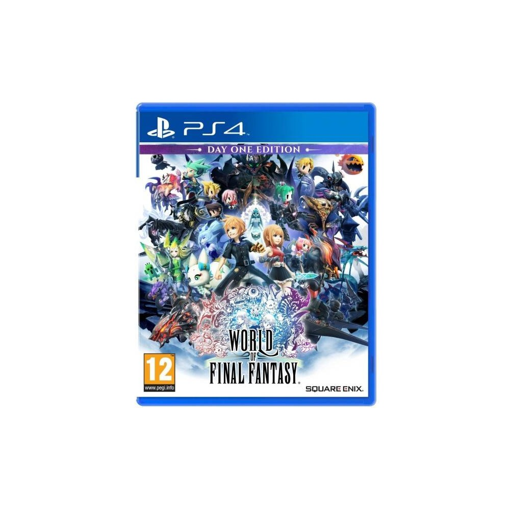 WORLD OF FINAL FANTASY DAY ONE EDITION PS4 ALLEMAND AVEC TEXTE EN FRANCAIS OCCASION