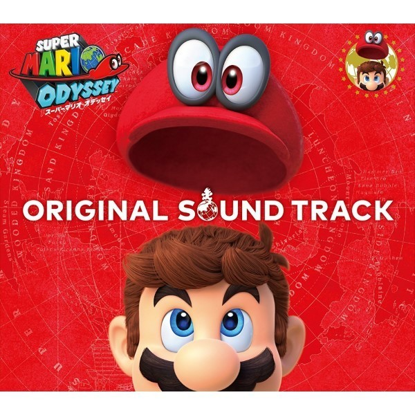 OST SUPER MARIO ODYSSEY GAME ORIGINAL SOUNDTRACK JPN NEW