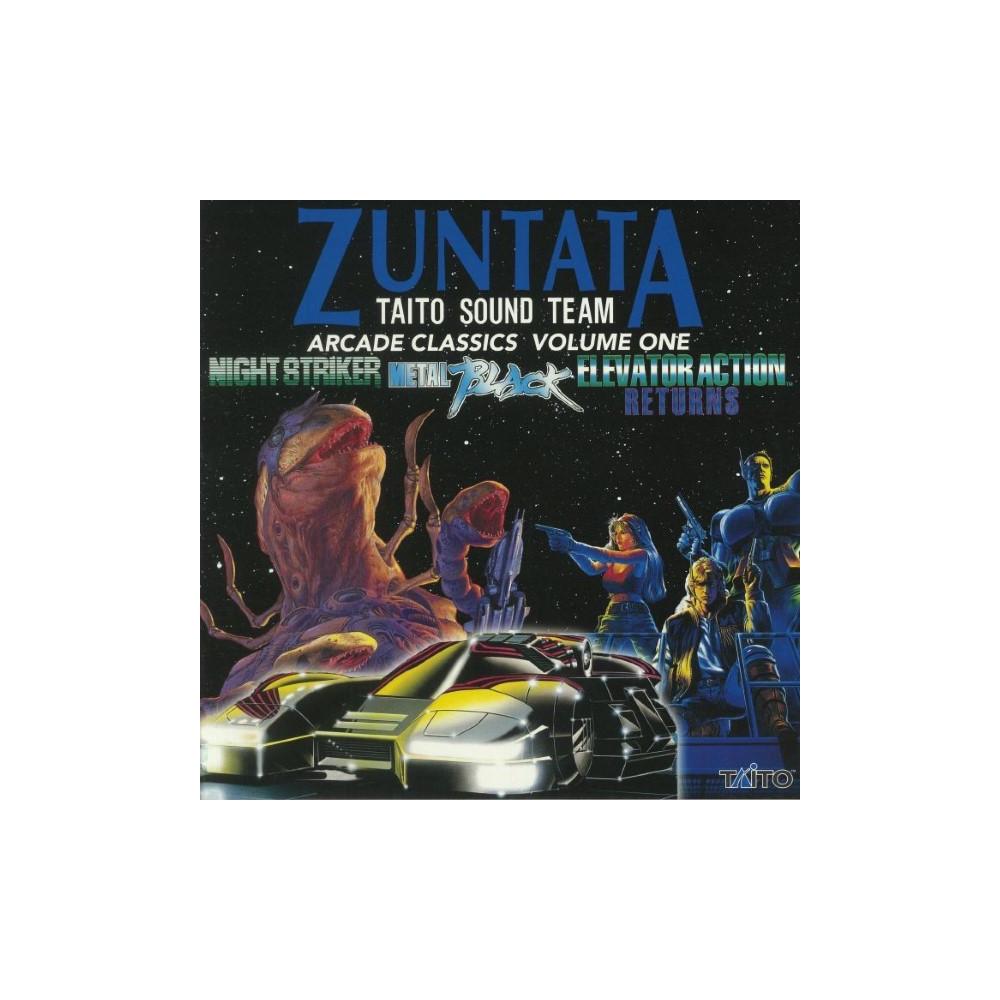 VINYLE ZUNATA TAITO SOUND TEAM ARCADE CLASSICS VOLUME ONE NEW