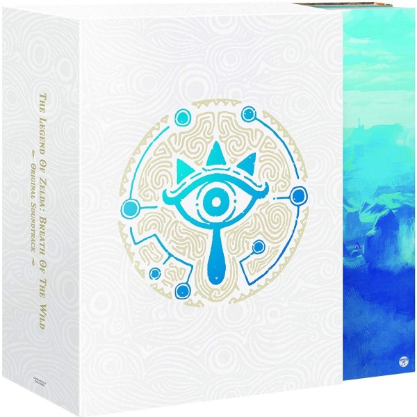 THE LEGEND OF ZELDA: BREATH OF THE WILD ORIGINAL SOUNDTRACK [5CD+PLAYBUTTON LIMITED EDITION]