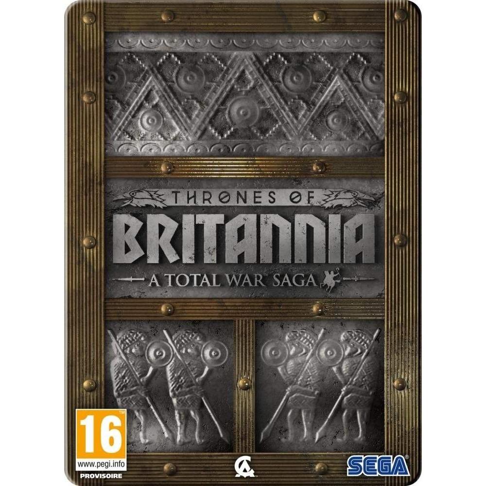 TOTAL WAR SAGA THRONES OF BRITANNIA - LIMITED EDITION PC CD PAL FR NEW
