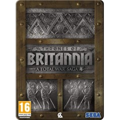 TOTAL WAR SAGA THRONES OF BRITANNIA - LIMITED EDITION PC CD PAL FR NEW