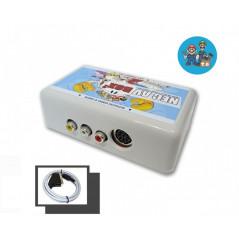 NEC Box pour console PC Engine, Core Grafx, Super Grafx... NEC - Interface vidéo RGB - Csync