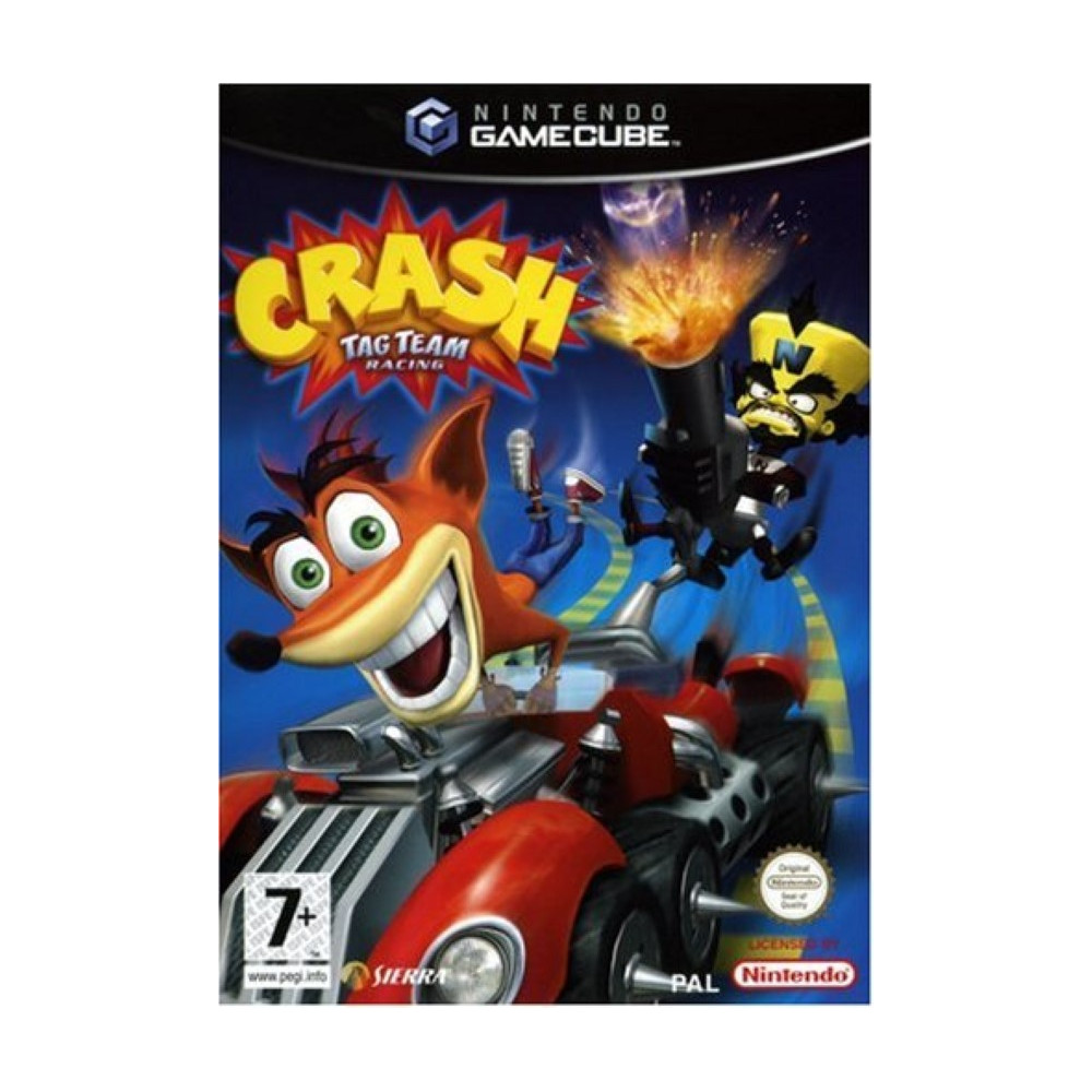 CRASH TAG TEAM RACING GAMECUBE PAL-FR OCCASION