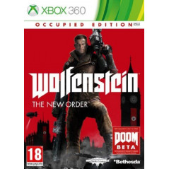WOLFENSTEIN THE NEW ORDER OCCUPIED EDITION XBOX 360 PAL-FR OCCASION