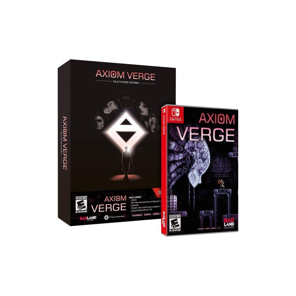 AXIOM VERGE MULTIVERSE EDITION SWITCH US OCCASION
