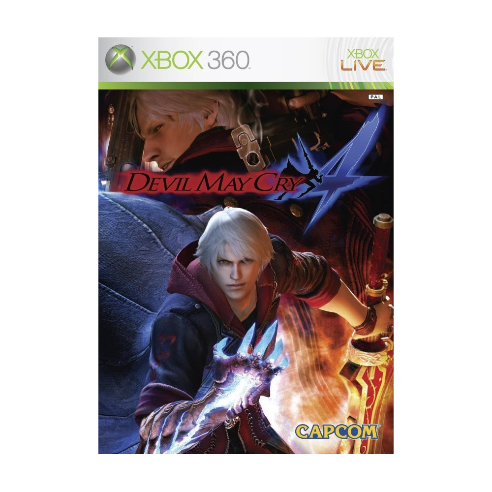DEVIL MAY CRY 4 XBOX 360 PAL-FR OCCASION
