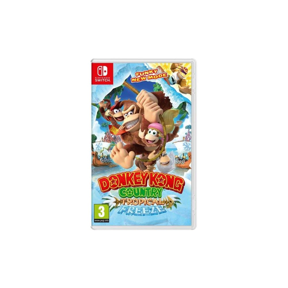 DONKEY KONG COUNTRY TROPICAL FREEZE SWITCH UK NEW