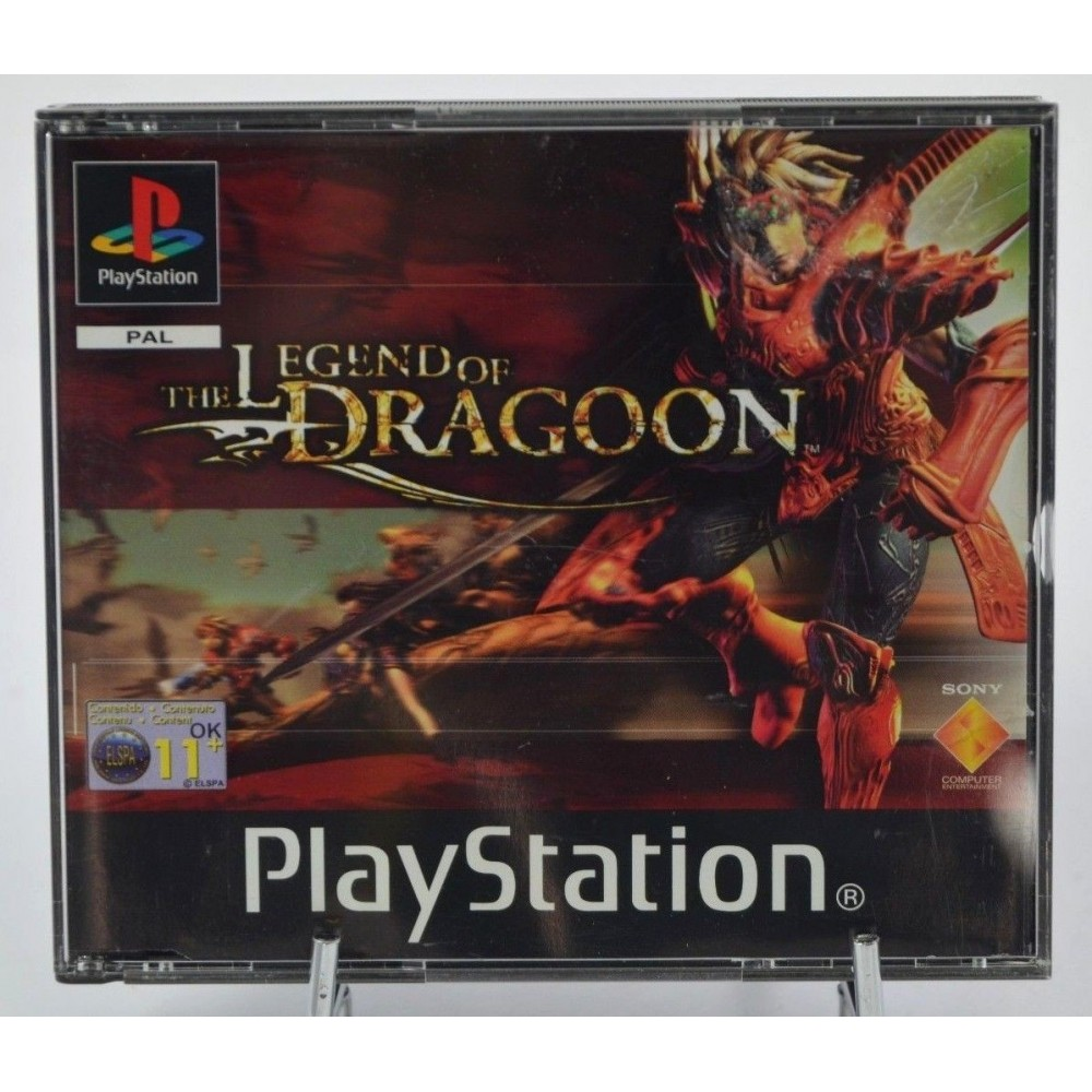 PROMO PRESS - The Legend of Dragoon PS1 playstation FR not for resale RARE +++