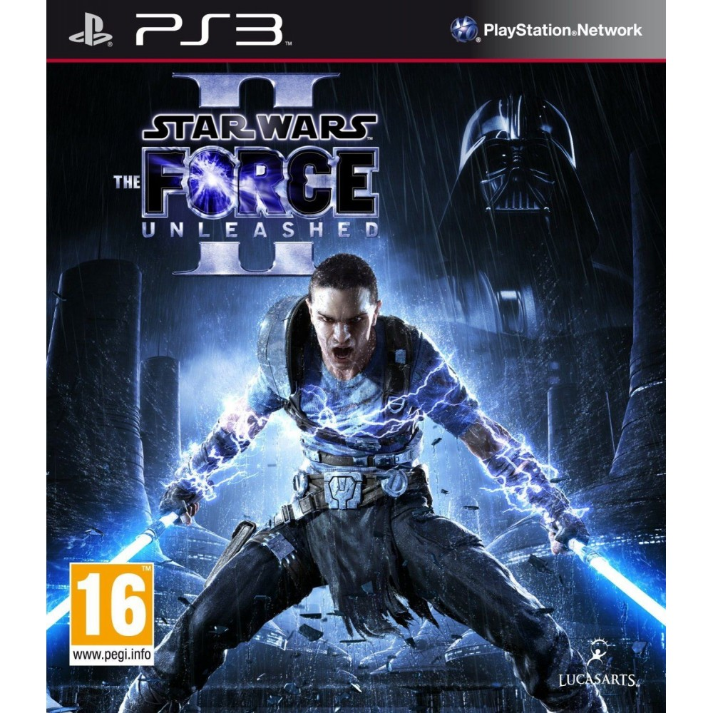 STAR WARS THE FORCE UNLEASHED II PS3 UK NEW
