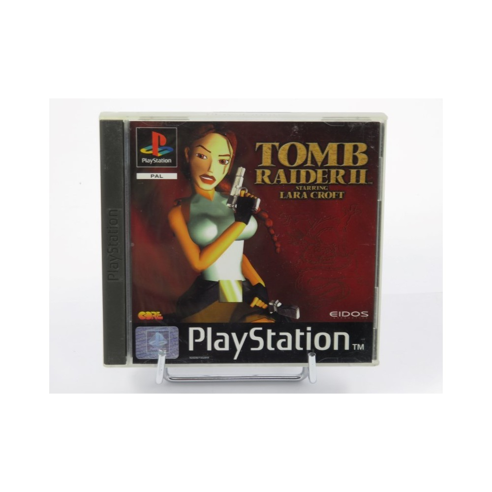 TOMB RAIDER II PS1 PAL-FR OCCASION