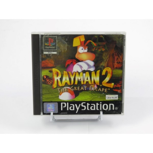 RAYMAN 2 THE GREAT ESCAPE PS1 PAL-EURO OCCASION