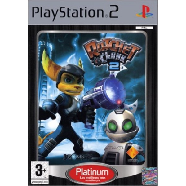RATCHET & CLANK 2 PLATINUM PS2 PAL-FR OCCASION