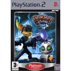 RATCHET & CLANK 2 PLATINUM PS2 PAL-FR OCCASION