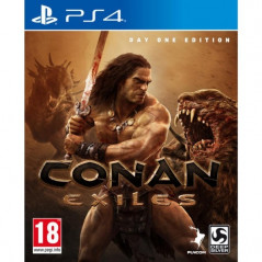 CONAN EXILES DAY ONE EDITION PS4 FR NEW