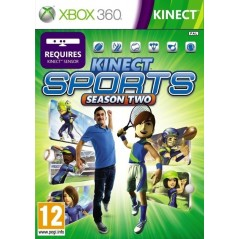 KINECT SPORTS SAISON 2 XBOX 360 PAL-FR OCCASION