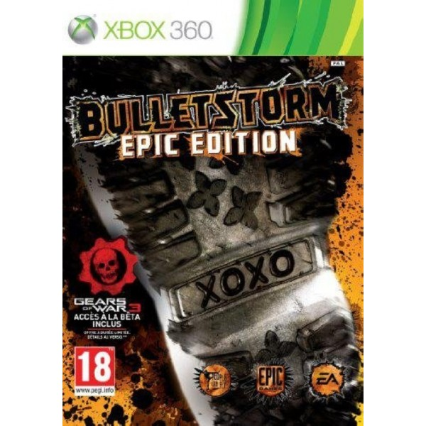 BULLETSTORM EPIC EDITION XBOX 360 PAL-FR OCCASION (ETAT B)
