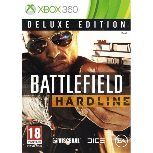 BATTLEFIELD HARDELINE DELUXE EDITION XBOX 360 PAL-EURO OCCASION (ETAT B)