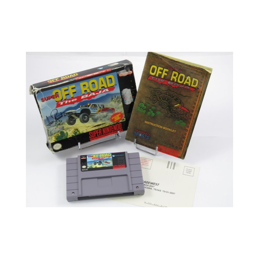 SUPER OFF ROAD THE BAJA SNES NTSC-USA OCCASION