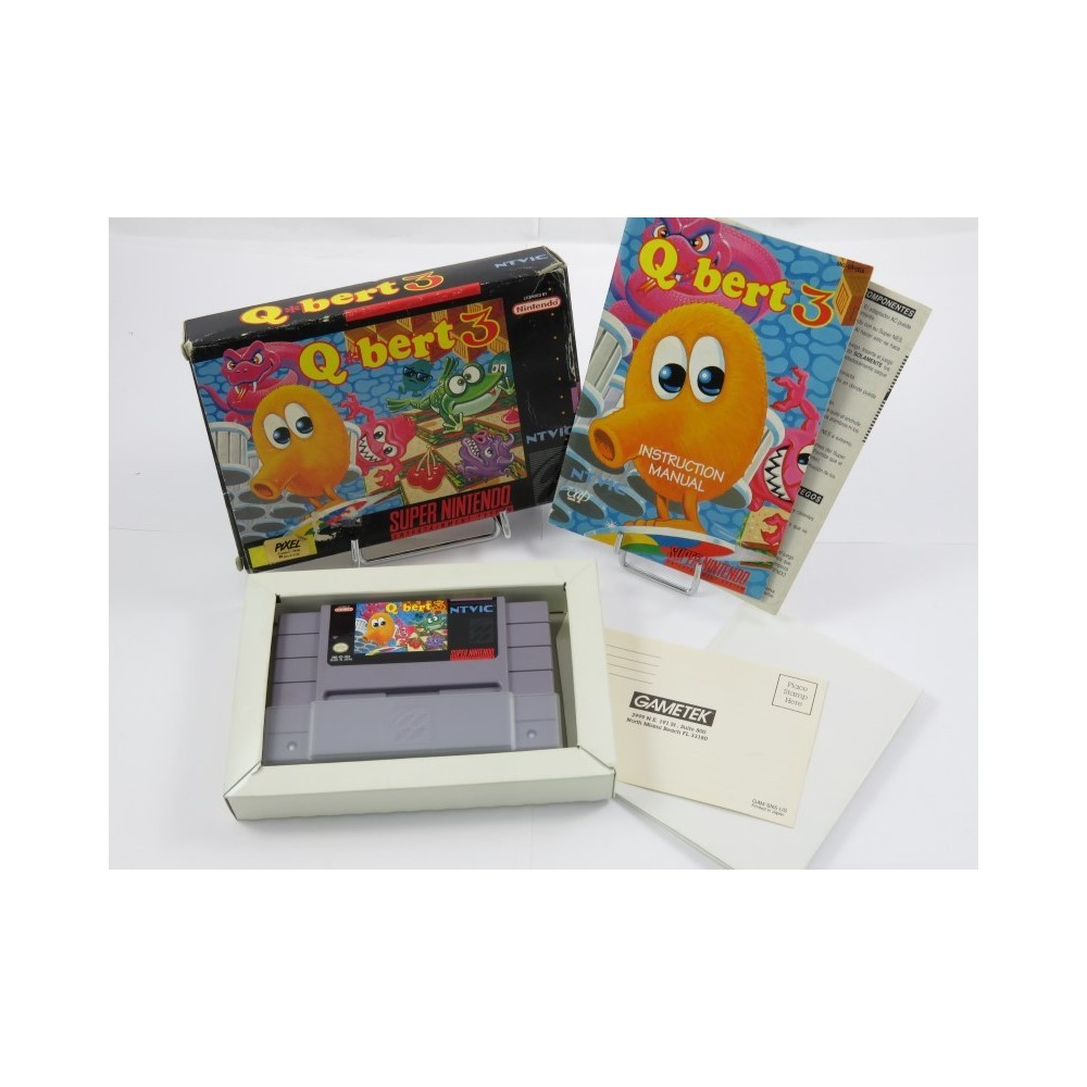 Q BERT 3 SNES NTSC-USA OCCASION