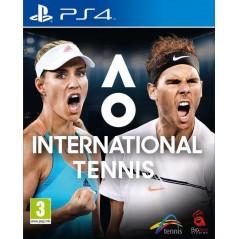 AO INTERNATIONAL TENNIS PS4 FR NEW