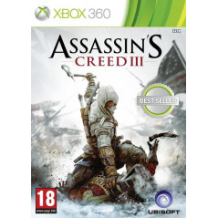 ASSASSIN'S CREED III BEST SELLER XBOX 360 PAL-FR OCCASION